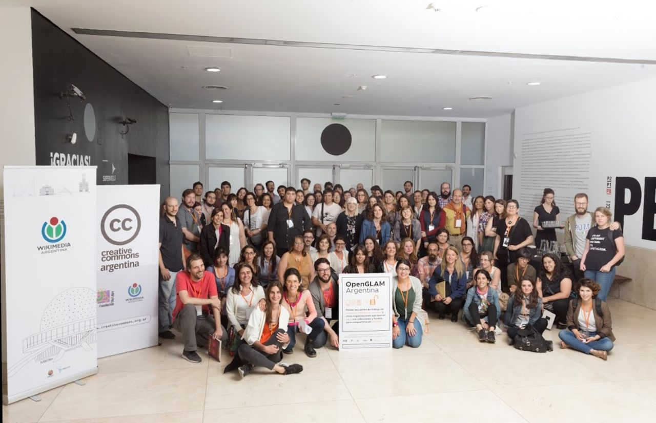 Creative Commons Argentina en el Primer Encuentro OpenGLAM