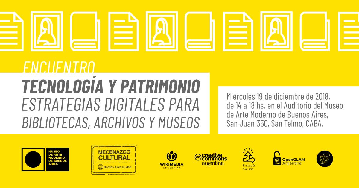 """Encuentro """"Tecnología y Patrimonio"""""""